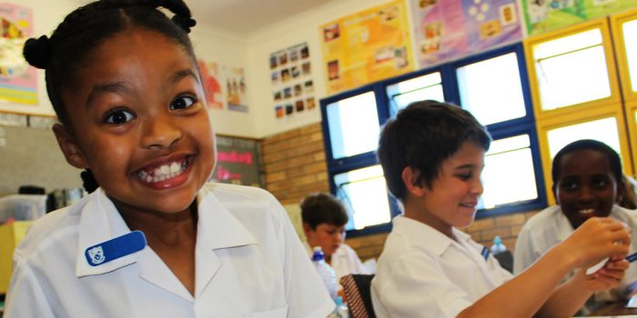 Modern learning in a happy, disciplined environment