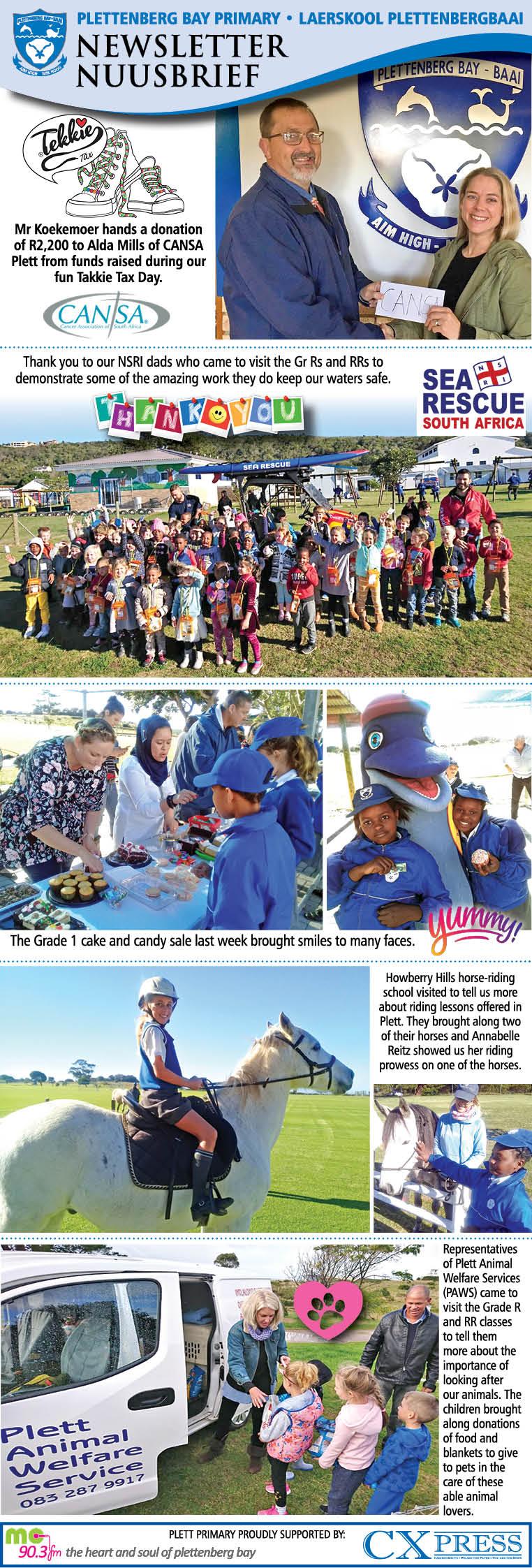 Plett Primary Newsletter 12.6.2019
