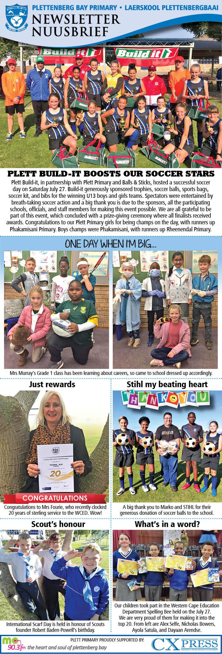 Plett Primary Newsletter 7.8.2019