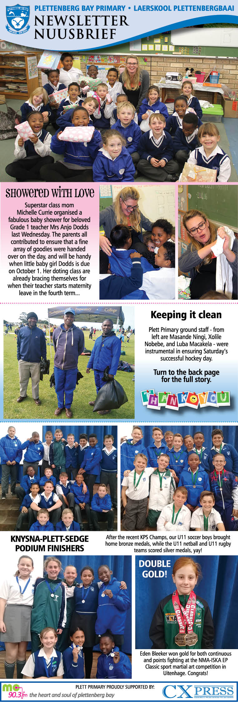 Plett Primary Newsletter 21.8.2019